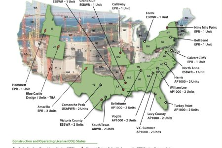 map of nuclear reactors in the united states submited images.