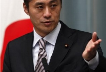 Environment Minister, also in charge of the nuclear crisis Goshi Hosono speaks during a press conference at prime minister's official residence in Tokyo, Japan, Friday, Sept. 2, 2011. Japan's new Prime Minister Yoshihiko Noda chose fresh faces and political unifiers for his Cabinet Friday, promising to steer the troubled nation through disaster recovery, a nuclear crisis and a lengthy economic slump. (AP Photo/Shizuo Kambayashi)