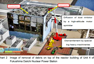 Removal of Debris from Reactor 4 at Fukushima Daiichi