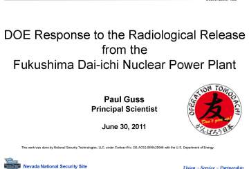 6C-DOE Response to the Radiological Release from the Fukushima Daiichi Nuclear Power Plant_Page_01