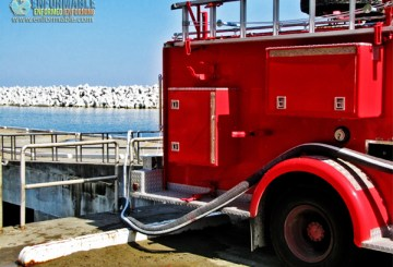 Pumping up seawater (pictured on October 12, 2011)