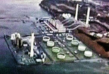 Daiichi nuclear plant was partially flooded by the tsunami