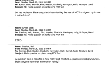 Media question on plants using MOX fuel - Pages from C141933-02A