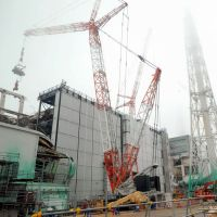 Fukushima Daiichi Unit 3 debris removal operations released 280 billion becquerels per hour