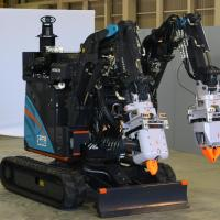 Japanese robots working to clean debris from Fukushima Daiichi Reactor 3