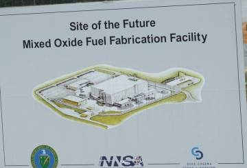 Savannah River Site - Mixed Oxide Fuel Fabrication Facility