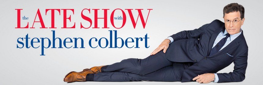 Banner image for the Late Show with Stephen Colbert
