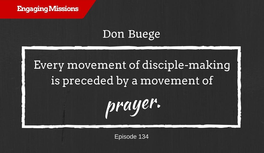 How to Find Joy with God in the Wilderness, with Don Buege – EM134