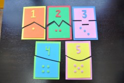 Lovable I Homemade Number Puzzles Activities Toddlers How To Make A Puzzle Game How To Make A Puzzle Permanent