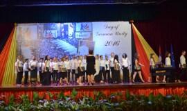 """Tag der deutschen Einheit in Laos – die """"Engel"""" zwitschern wieder im Chor der deutschen Botschaft"""
