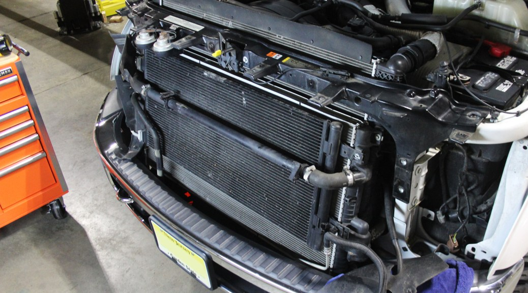 2011 2016 Ford 6 7l Super Duty Secondary Radiator Part 1