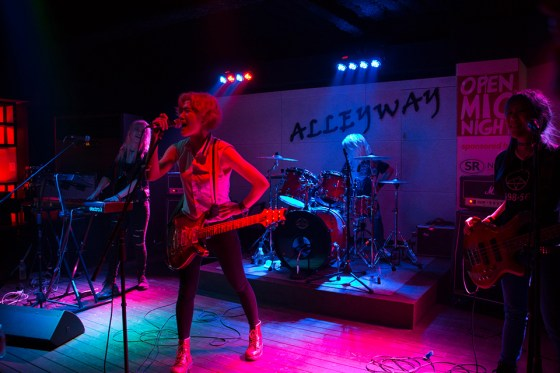 Alleyway Taphouse in the South Gate district of Suwon is on its way to becoming a mandatory stop for groups like Korean rock band Walking After U, who headlined April 17 while on tour promoting their new mini album Running Wild. (Photo: Charles Ian Chun)