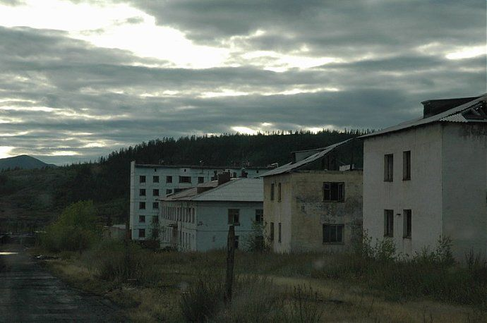 Russian dead town - stays abandoned 6