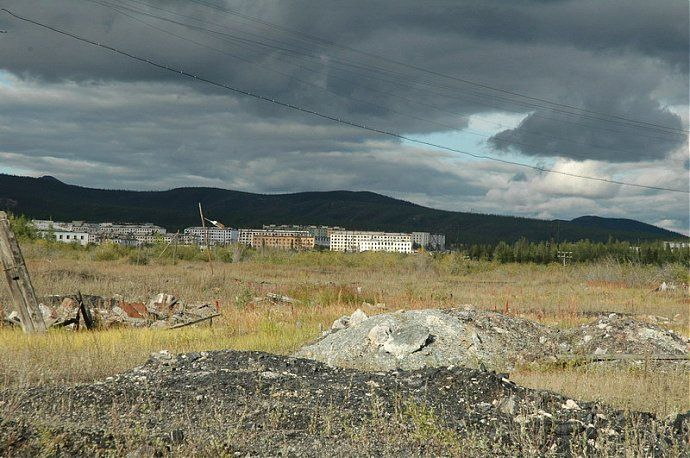 Russian dead town - stays abandoned 22