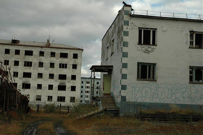Russian dead town - stays abandoned 43