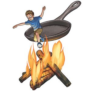 Blog_out of frying pan into fire