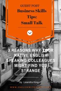 Business Skills Tips- Small Talk 2