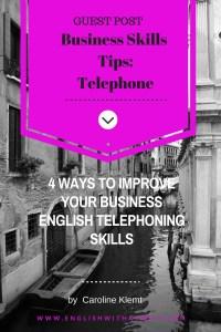 Business Skills Tips- Telephone