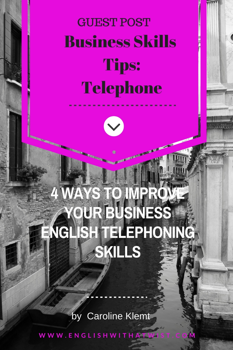 Business Skills Tips- Telephone