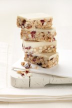 yogurt and cranberry tiffin