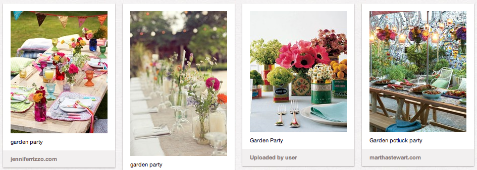 Garden Party Ideas Pinterest garden party ideas Jubilee Tea Party Ideas Host A Garden Party
