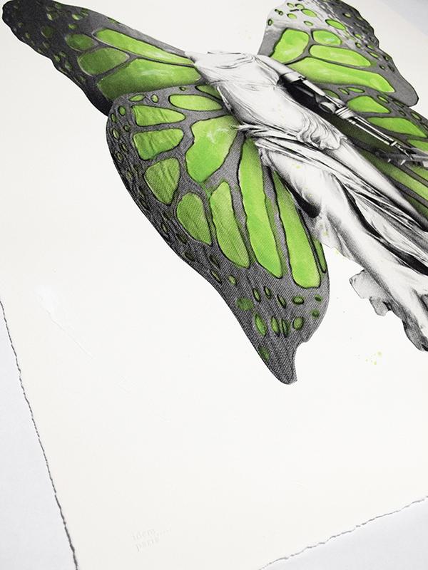 Victory print detail 3