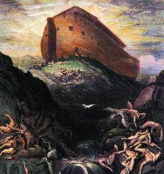 Noah's ark lifts of its moorings