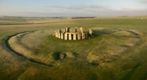 Stonehenge wide overview