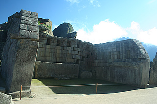 machuPicchuN wall monolith Principal Temple