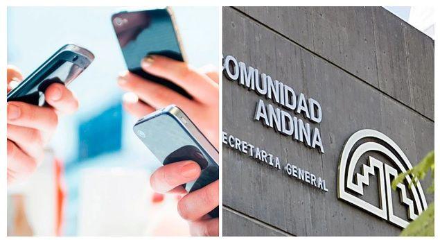 Comunidad Andina anuncia eliminación de costos del 'roaming'