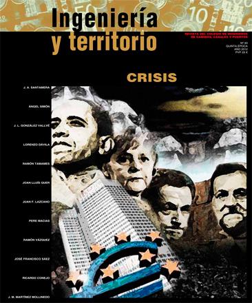Ingeniería y Territorio número 93... Crisis