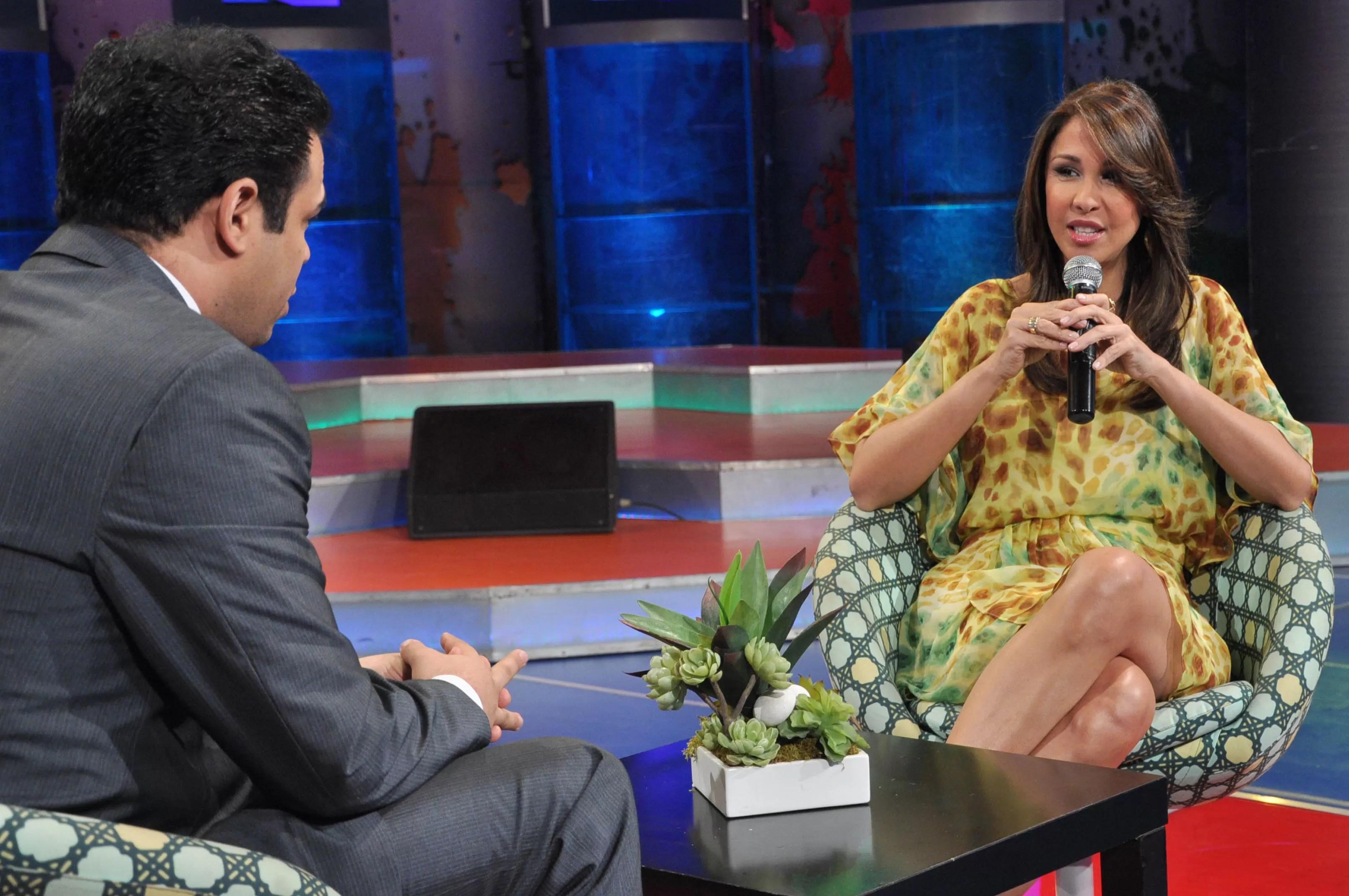 Mariasela Alvarez en Mas Roberto