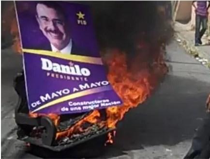 Danilo en fuego