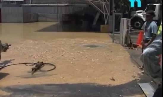 Agua desperdiciada