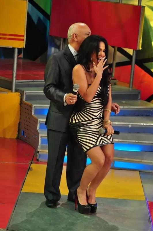 Rosa y Jochy Bailando