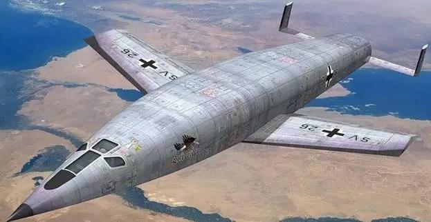 avion nazi