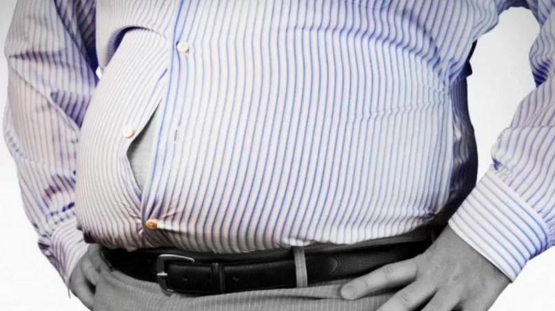 panza barriga gordo hombre