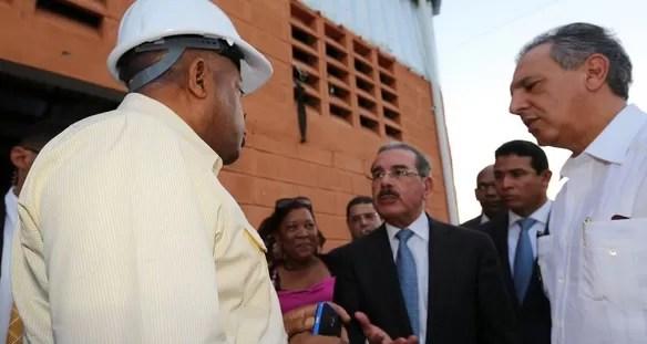Danilo Medina enojado