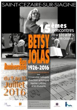 Affiche Rencontres St Cézaire - BD