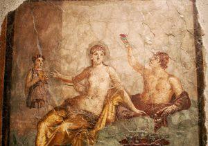 Banquet - Fresque Pompei AMELIORE - BD