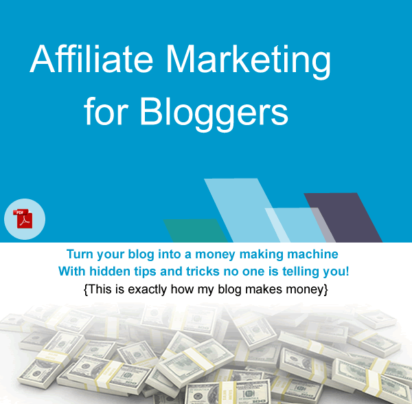 affiliate marketing for bloggers ebook