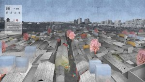 Graduation project of Sisi Li, 'Reactivate the Hutong', 2016