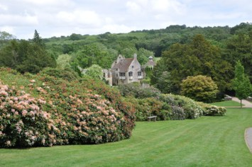 The Rhododendrons were just at the end of their season
