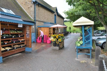 Exterior of farm shop
