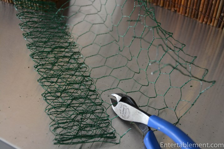 Wire floral mesh