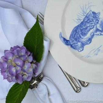 Minton Cat Plates-5815