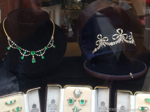 Or perhaps something in emeralds?