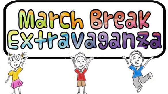 new march break logo