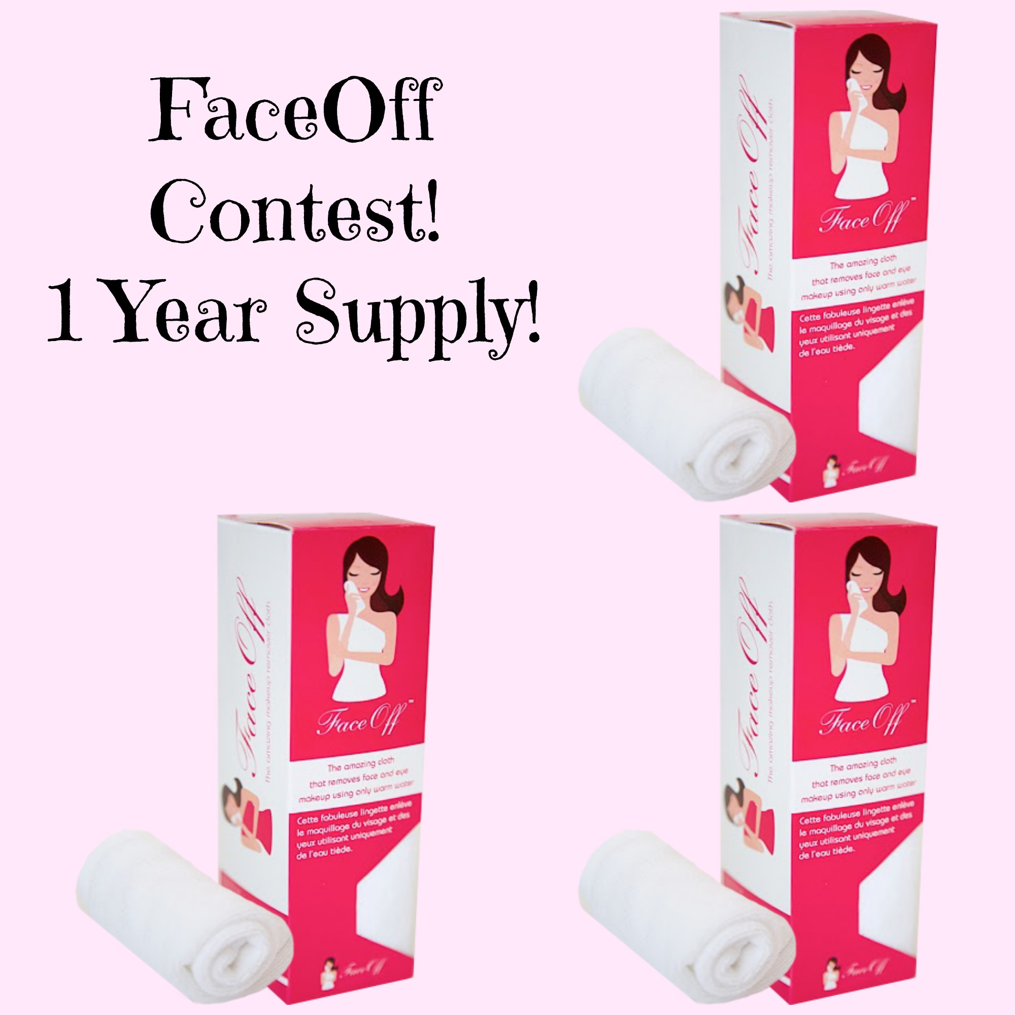 FaceOff Cloth Contest (1 Year Supply)