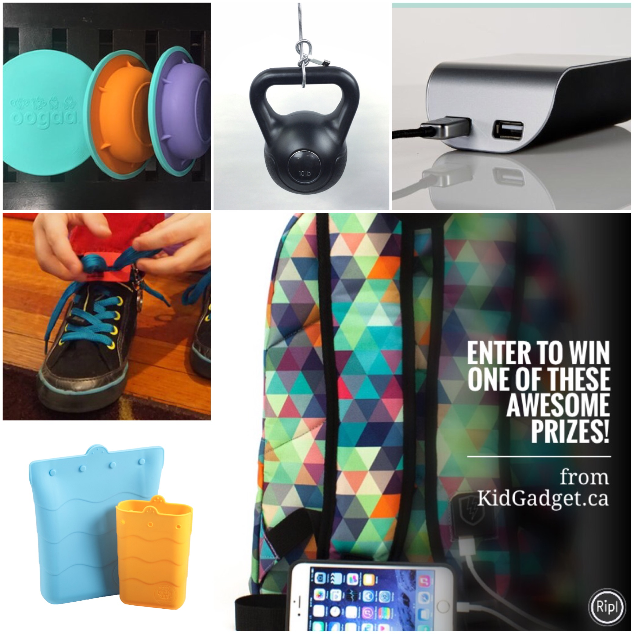 Win $250 Worth Of Prizes From KidGadget